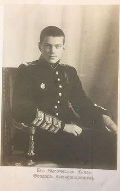 """Prince Feodor Alexandrovich Romanov of Russia. """"AL"""""""