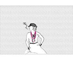 Póster adhesivo Coco Chanel – 102x68