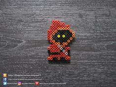 Star Wars Mini Jawa Perles Hama / Star Wars Little Jawa Perler Beads Pokemon Perler Beads, 3d Perler Bead, Pearler Beads, Fuse Beads, Fuse Bead Patterns, Perler Patterns, Beading Patterns, Les Gremlins, Gremlins Gizmo