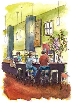 Flying Goat  Coffee by The Artist on the Road, via Flickr