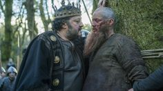 vikings - ragnar and king aelle