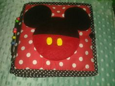Quiet book Mickey Mouse