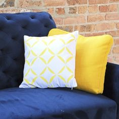 If you are having problems finding a pillow to match your home decor, why not make it yourself so it matches perfectly!