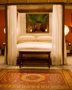 4 Post Canopy Bed 15 most beautiful decorated and designed beds | canopy, damask