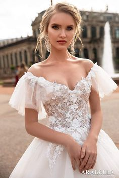 Enchanting by Mon Cheri Fall 2017 Bridal Collection Bridal Tiara, Bridal Headpieces, Bridal Gown, Bridal Looks, Bridal Style, European Wedding Dresses, Mon Cheri Bridal, 2017 Bridal, 2017 Wedding