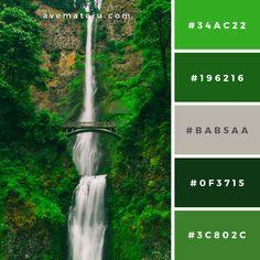 Beach Color Palettes, Flat Color Palette, Green Palette, Colour Pallete, Color Combinations, Grey Paint Colors, Green Colors, Couleur Html, Hex Color Codes