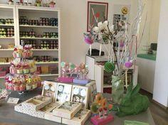 Ostern im Bonbonladen  #candyshop #Osterdeko #Bonbons #Lollis #Süßigkeiten #Easter