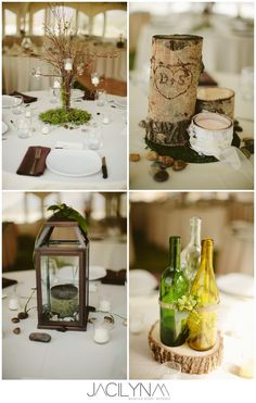 I love the piece on the top right. Perhaps a big one for on/in front of the head table??