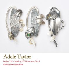 Join exhibitor Adele Taylor at this year's #welbeckxmasmarket. Featuring patterns and textures with forms using both positive and negative space, from magnified details of beetles wing cases and distant landscapes.