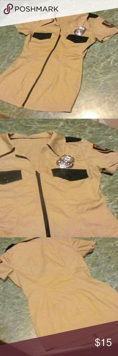 * SALE* Sexy Sheriff  Police Costume  XS No tags form fitting and date night short size xs great condition. Make a great deal even better by bundling to save on shipping Intimates & Sleepwear
