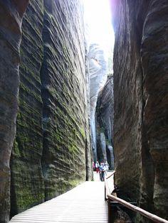 Góry Stołowe - skalne miasto