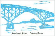 10 Bridges of the Willamette:  Ross Island Bridge