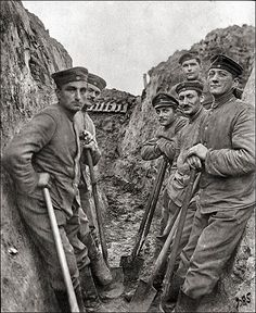 Digging trenches near Grodno, Belarus