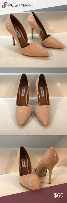 Steve Madden Nude Heels Steve Madden Nude Heels 👠 Size 7.5 👠 4 Inch Heel 👠 Like New 👠 Only wore once to an indoor wedding 💍 Steve Madden Shoes Heels
