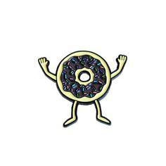 Donut Lapel Pin