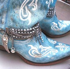 Boot Bling 2 - Jewelry for your boots (sold as a single or a pair) on Etsy, $40.00