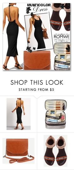"""ROMWE 9 / II"" by selmamehic ❤ liked on Polyvore"