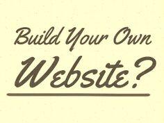 Simple Guide To Help You Build a website or Blog  http://www.websitebuildinghelper.com/