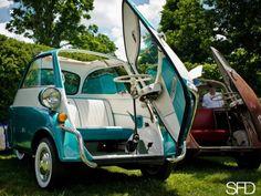 Bmw Isetta, Miniature Cars, Fiat 600, Toyota Tundra, Small Cars, Bmw Cars, Concept Cars, Motor Car, Vespas