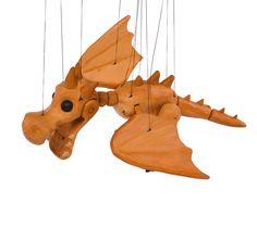 Dragon 3d printed marionette Dragon, 3d, Printed, Pendants, Dragons