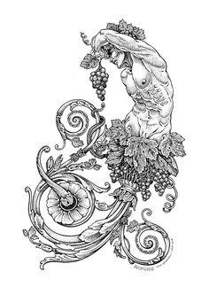 MitoQuillo 4, #Dibujos e #Ilustraciones #Illustrations de Tony Carbonell #Cadiz