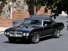 1969 Pontiac Firebird 400 Convertible. Awesome American Muscle!