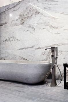 I MARMI DI REX MARBLE GRAY LUCIDO/SHINY by Rex marmorijäljitelmä-laattta