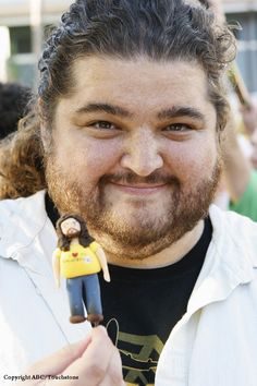 Hurley.... he made Lost worth watching.... even if the last season was a waste of my time....