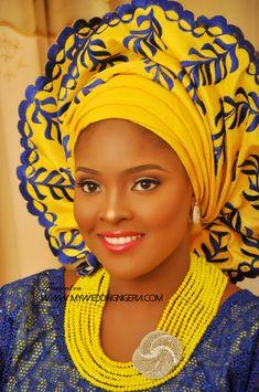 Nikkai Wedding Of Hafsat and Ibrahim ~Latest African Fashion, African Prints…
