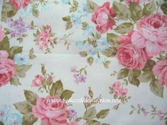 love the old floral patterns, like cabbage rose etc.