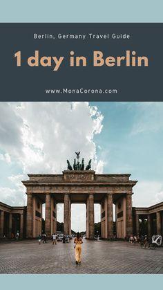 How to see Berlin in one day! Berlin, Germany Europe | One day in Berlin | 1 day Berlin Itineray | Berlin travel guide | Berlin Travel tips | Berlin hotels | berlin restaurants | best things to do in Berlin | Where to go in Berlin | Where to stay in Berlin | Where to eat in Berlin | Berlin wall | Berlin meuseums | Berlin travel guide | Berlin attractions | Berlin nightlife | Berlin nightclubs | Berlin photo spots | What to do in Berlin | top sites in Berlin | Berlin bucketlist #berlin #travel Berlin Travel, Paris Travel, Germany Travel, Italy Travel, Germany Europe, Berlin Germany, Berlin Hotel, Berlin Berlin, Berlin Wall