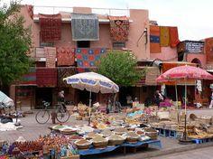 Rahba Kedima Square, Marrakech: spice market
