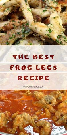 This Frog legs Recipe is the best, and i can tell you that because it comes from a chef that works in an elite restaurant in Rome, Italy. Best Frog Leg Recipe, Frog Legs Recipe, Hawaiin Food, Fried Frog Legs, Gluten Free Wine, 3 Ingredient Dinners, Wild Game Recipes, Seafood Recipes, Cajun Recipes