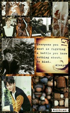 Exo Chen Jongdae chocolate MoodBoard