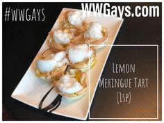 Looking for something sweet? Why not make a lemon meringue tart! Sugar Free Jello, Sugar Free Syrup, Lemon Sugar, Vanilla Sugar, Lemon Meringue Tart, Tart Shells, Ww Desserts, Ww Recipes, Key Lime