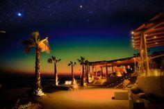 Pathos Sunset Lounge Bar and Restaurant in Ios Island Greece | Drone Shots