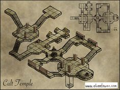 Map 21 – Cult Temple