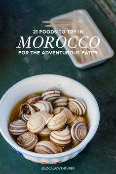 Famous Moroccan Food - 21 Foods You Must Try in Morocco // Local Adventurer Morocco Beach, Visit Morocco, Morocco Travel, Africa Travel, Best Places To Eat, Cooking With Kids, Foodie Travel, Street Food, Adventurer