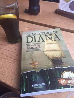 Gracias Andrea por tu #MuyIdentificada  Esta novela esta dedidada para las emprendedoras como tu , que se han atrevido a dejar atrás las Confortalias corporativas. Que Diana te acompañe e ilumine en tu singladura.