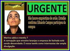 HELLBLOG: EDUARDO CAMPOS COMPROU O AVIÃO E MARINA SABIA E ME...