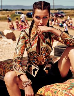Bella at the Beach in Vogue Japan with Bella Hadid - (ID:35970) - Fashion Editorial | Magazines | The FMD #lovefmd