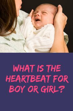 What is the Heartbeat for Boy or Girl? Many women believe that the gender of a baby can be predicted by how fast the baby's heart beats either on an ultrasound or handheld doppler. Birth Doula, Second Pregnancy, Premature Baby, Natural Parenting, Third Trimester, Baby Development, Everything Baby, Breastfeeding Tips, Medical Advice