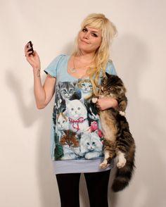 Cat lady dress