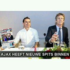 BREAKING: #Ajax heeft nieuwe spits binnen! : @ajaxpictures