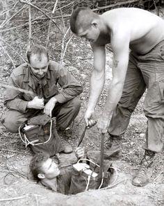 Tunnel Rats Vietnam History War Photos American North