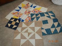 Old Quilt Patches Variety  FREE Shipping by anteeker on Etsy $14.00