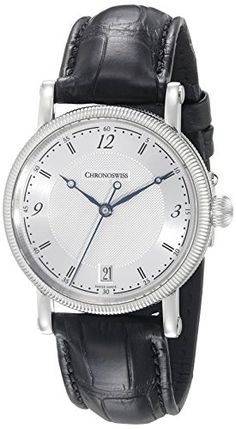 Chronoswiss Womens CH2043111 Sirius Analog Display Automatic Self Wind Black Watch -- Want additional info? Click on the image.