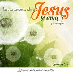 """""""Porque Deus amou o mundo de tal maneira que deu o Seu filho unigênito"""". João 3:16    O problema do pecado exigiu uma grande solução, que só Deus poderia providenciar."""