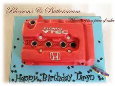 Honda car engine.  All cake.