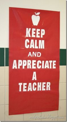 Teacher Appreciation Week Bulletin Board